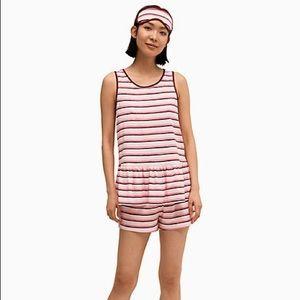 Kate Spade Pink Stripes PJ Set